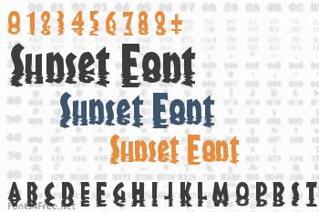 Sunset Font