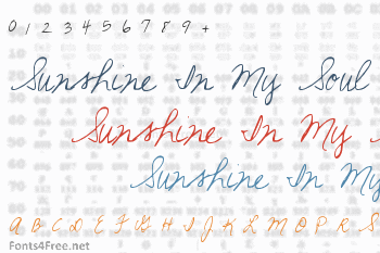 Sunshine In My Soul Font