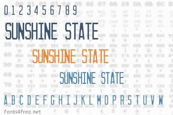 Sunshine State Font