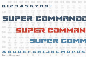 Super Commando Font