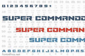 Super Commando Font