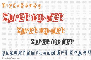 Super Danger Font