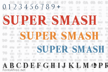 Super Smash Font