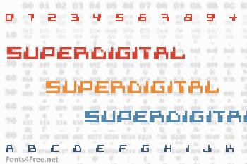 Superdigital Font