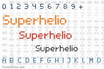 Superhelio Font