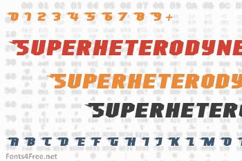 Superheterodyne Font