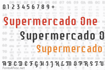 Supermercado One Font