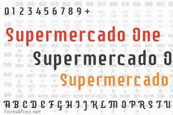 Supermercado One Font