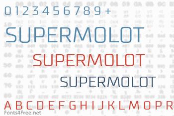 Supermolot Font