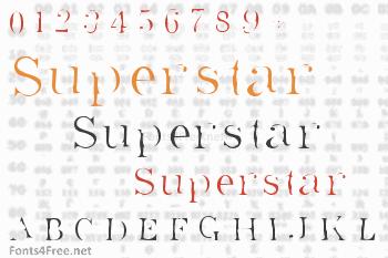 Superstar Font