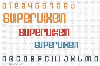 Supervixen Font