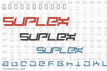 Suplex Font