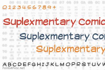 Suplexmentary Comic Font