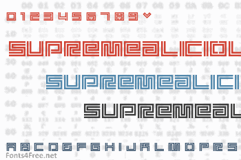 Supreme Fontaliciou Font