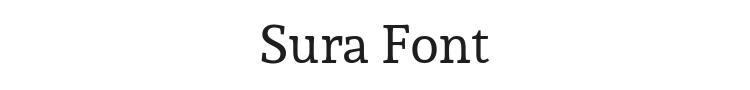Sura Font