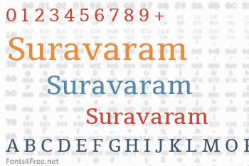 Suravaram Font