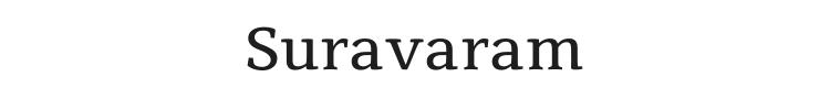 Suravaram Font Preview