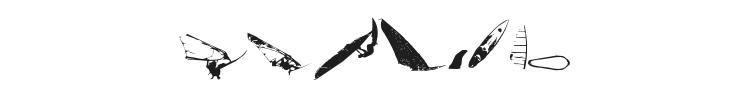 Surf Bat Font Preview