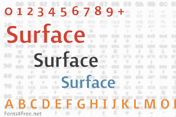 Surface Font