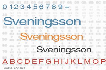 Sveningsson Font