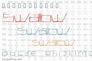 Swallow Font