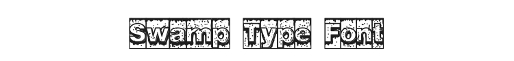 Swamp Type Font Preview