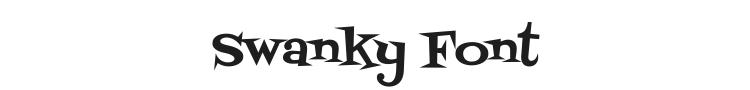Swanky Font