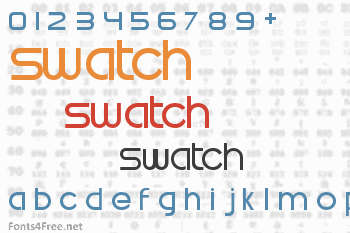 Swatch Font