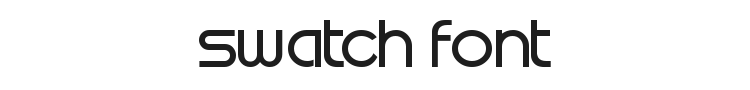 Swatch Font Preview