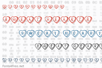 Sweat Hearts Font