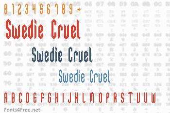 Swedie Cruel Font