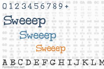 Sweeep Font