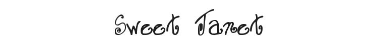 Sweet Janet Font