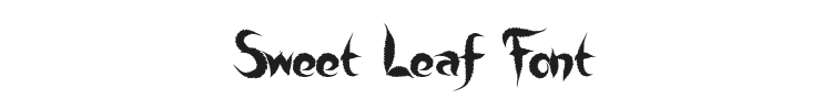 Sweet Leaf Font Preview