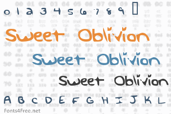 Sweet Oblivion Font