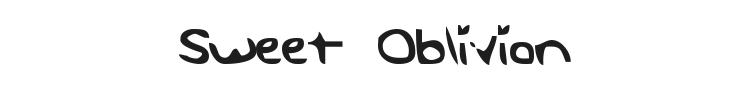 Sweet Oblivion Font Preview
