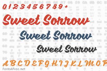 Sweet Sorrow Font