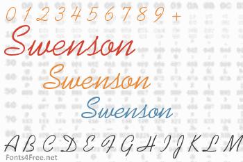 Swenson Font