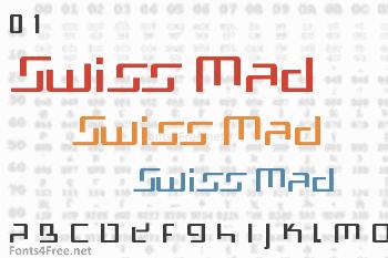 Swiss Mad Font