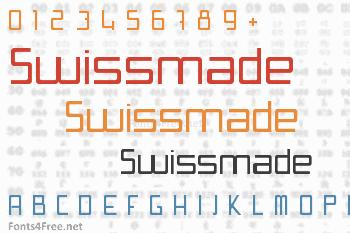 Swissmade Font