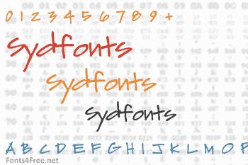 Sydfonts Font