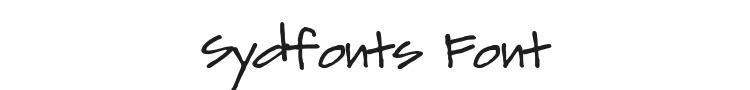 Sydfonts Font Preview