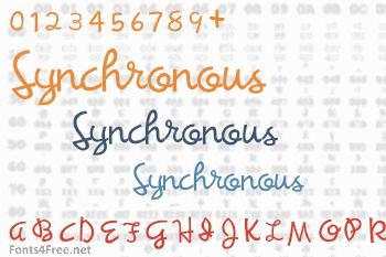 Synchronous Font