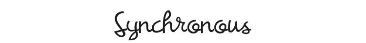 Synchronous Font Preview