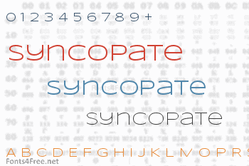 Syncopate Font