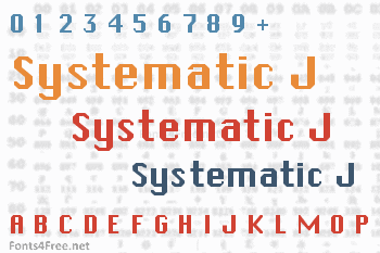 Systematic J Font