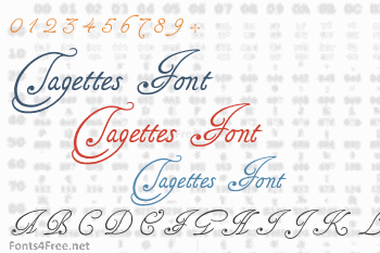 Tagettes Font