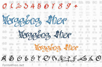 Tagging Zher Font
