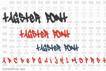 Tagster Font