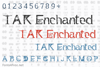 TAK Enchanted Font